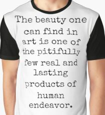 Paul Getty famous quote about art Graphic T-Shirt