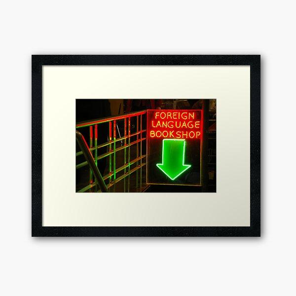 Gringo Star Framed Art Print
