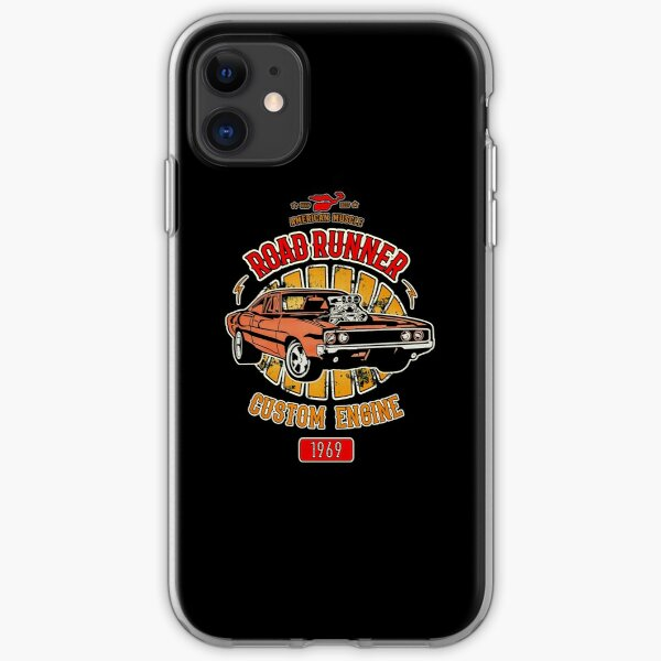 Plymouth Road Runner - American Muscle iPhone Soft Case