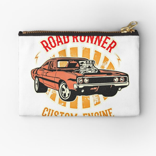 Plymouth Road Runner - American Muscle Zipper Pouch