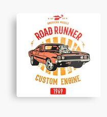 Plymouth Road Runner - American Muscle Metallbild