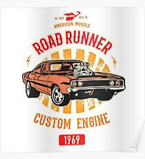 Plymouth Road Runner - American Muscle Poster