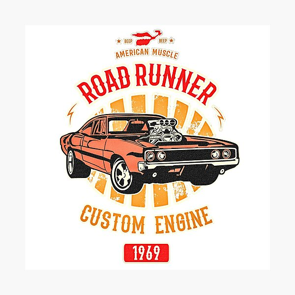Plymouth Road Runner - American Muscle Photographic Print