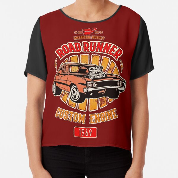 Plymouth Road Runner - American Muscle Chiffon Top