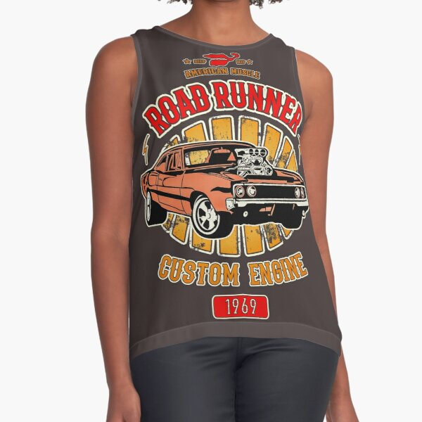 Plymouth Road Runner - American Muscle Sleeveless Top