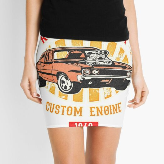 Plymouth Road Runner - American Muscle Mini Skirt