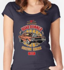 Plymouth Road Runner - American Muscle Tailliertes Rundhals-Shirt