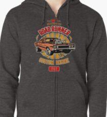 Plymouth Road Runner - American Muscle Hoodie mit Reißverschluss