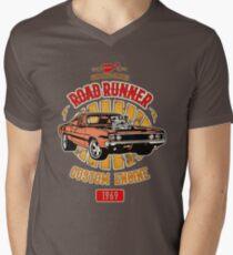 Plymouth Road Runner - American Muscle T-Shirt mit V-Ausschnitt