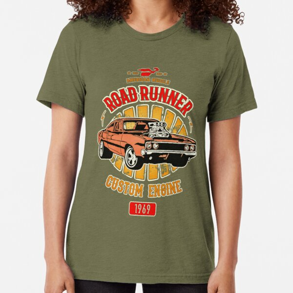 Plymouth Road Runner - American Muscle Tri-blend T-Shirt