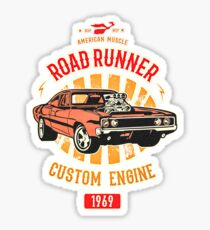 Plymouth Road Runner - American Muscle Sticker