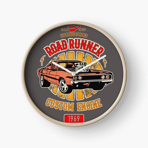 Plymouth Road Runner - American Muscle Clock