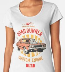 Plymouth Road Runner - American Muscle Frauen Premium T-Shirts