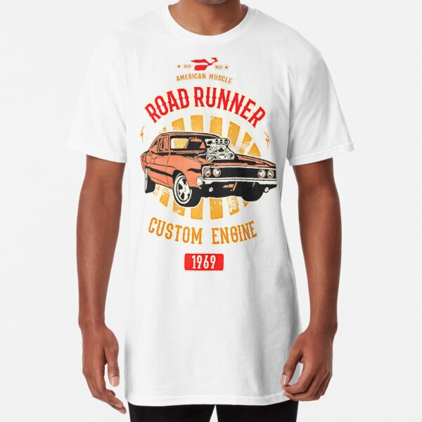 Plymouth Road Runner - American Muscle Long T-Shirt