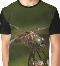 Female Blue Dasher Graphic T-Shirt