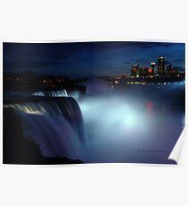 Niagara at dusk Poster