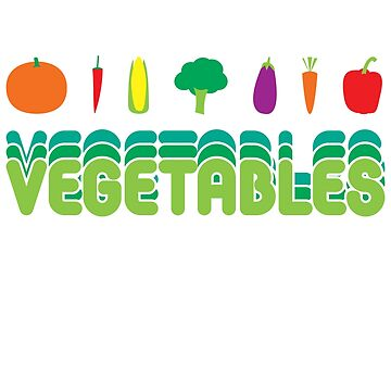 Vegetables by MangaKid