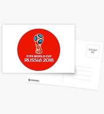 Fifa World Cup Russia 2018 Postcards
