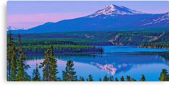 Schwatka Lake & Golden Horn at Sunrise by Yukondick