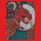 Lizard King Tee by Lynnette Shelley