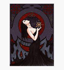 "Astral Magic ""Dark / Vampire"" Photographic Print"