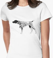German Shorthaired Pointer 2 Women's Fitted T-Shirt