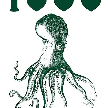 I heart heart heart octopus by MangaKid