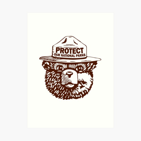 Protege nuestros parques Lámina artística