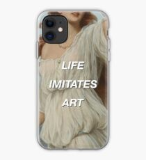 Life imitates art iPhone Case