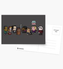 8-Bit Community Postcards