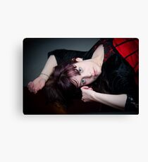 Reclined Canvas Print