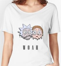 Reck n Melty - Fanmade Rick and Morty Design Women's Relaxed Fit T-Shirt