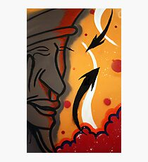 abstract face  Photographic Print
