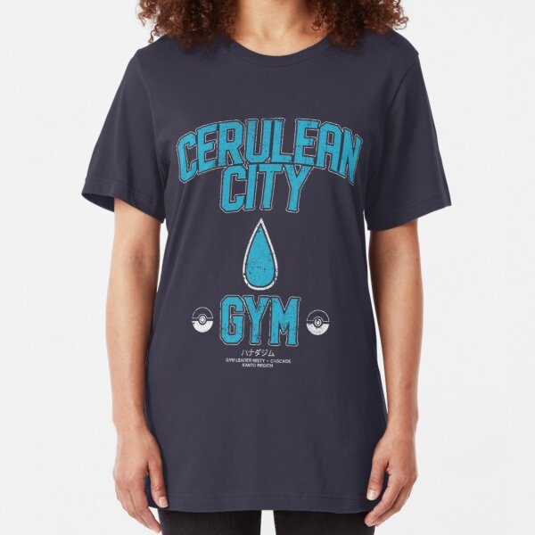 Cerulean City Gym Slim Fit T-Shirt