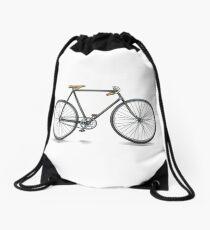 Retro Racer Bike Drawstring Bag