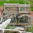 Lobster Traps at Point Prim, PEI by Shulie1