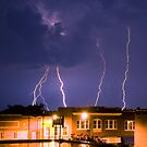 July Thunderstorm by Eric Abernethy