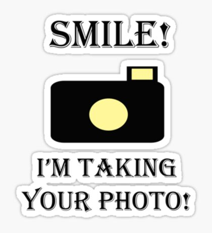 Smile! Photo  Sticker