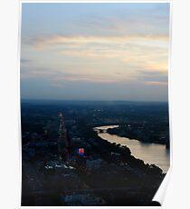 Sunset over Citgo Poster