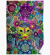3 Chakras Drawing on Paper - Art&Deco By Natasha Poster