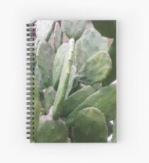 GreenLeaf Merchandise_green leaf Spiral Notebook