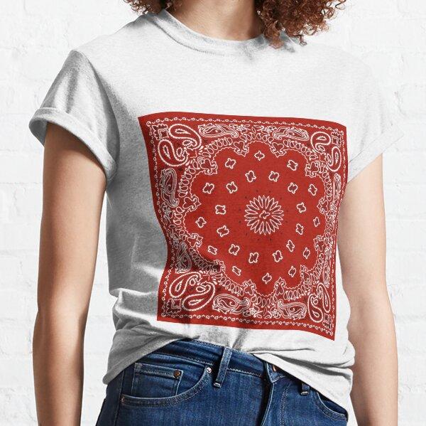 Bandana rouge T-shirt classique