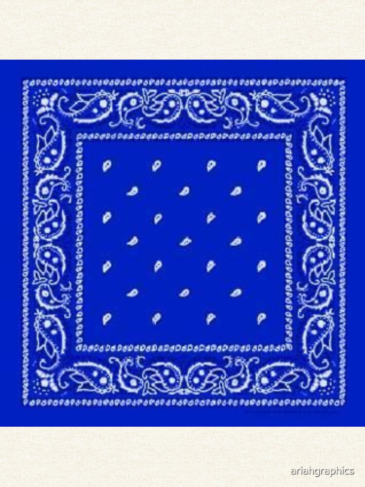 Blue Bandana by ariahgraphics