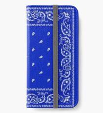 Vinilo o funda para iPhone Pañuelo azul
