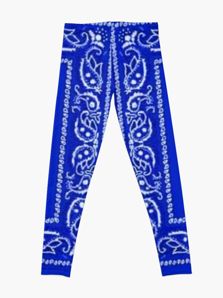Alternate view of Blue Bandana Leggings