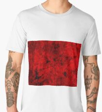 Grunge style cool, unique modern abstract painting art design Men's Premium T-Shirt