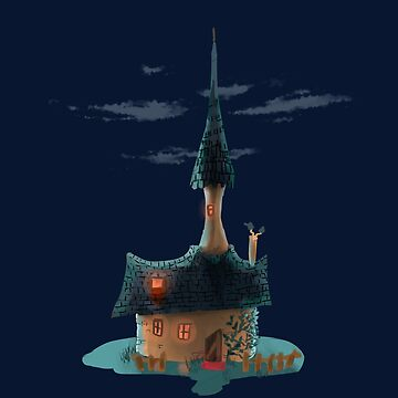 Miniature/small/cartoon witch house by m-ersan