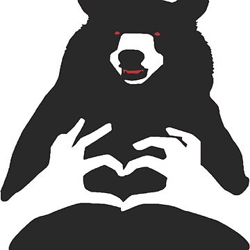 The love bear by fakhro2