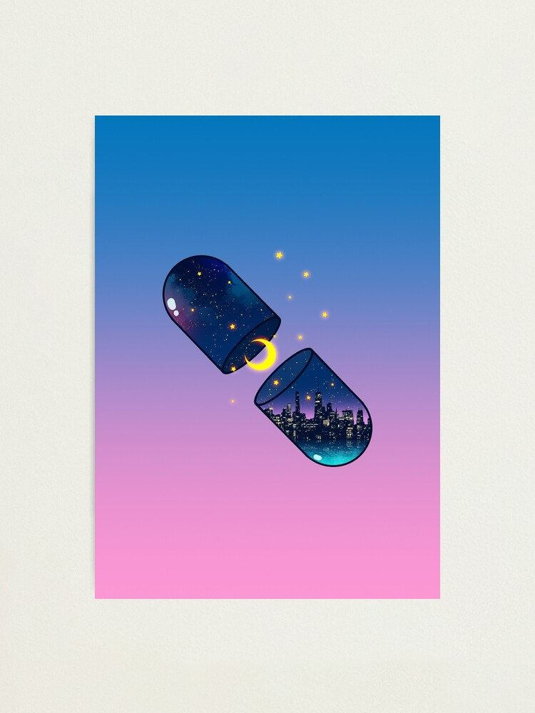 Alternate view of Chill Pill Photographic Print