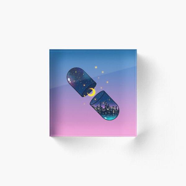 Chill Pill Acrylic Block